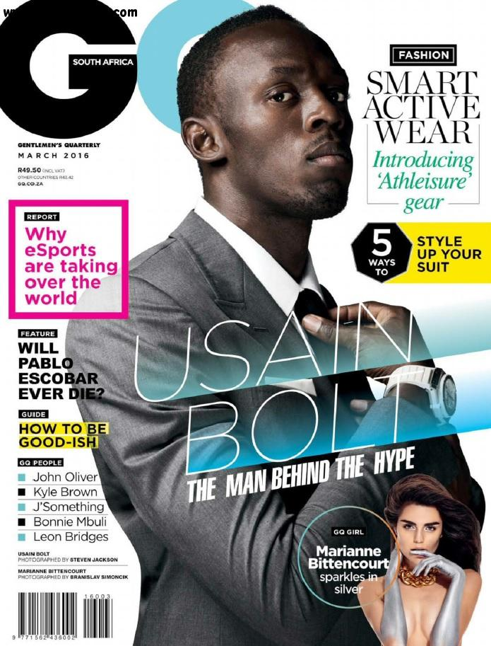 GQ South Africa - March 2016 free download