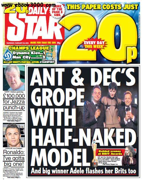 Daily Star - 25 February 2016 free download
