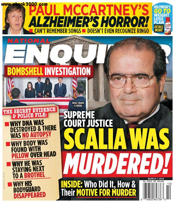 National Enquirer - 7 March 2016 free download