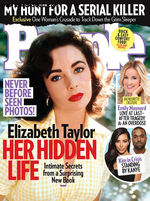 People USA - 7 March 2016 free download