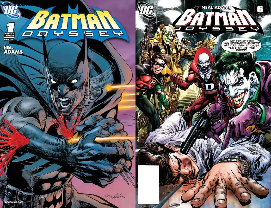 Batman Odyssey Vol.1 #1-6 (2010-2011) Complete free download