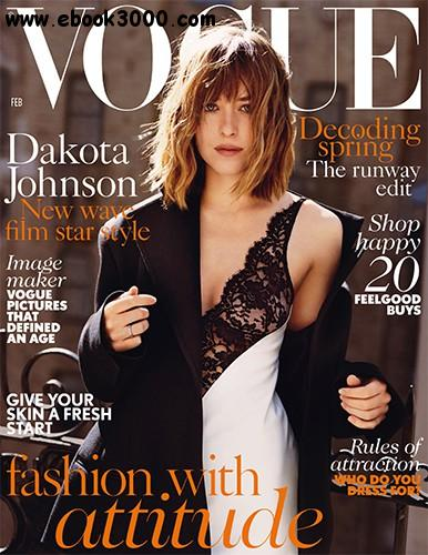 Vogue UK - February 2016 free download