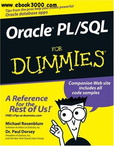 Oracle PL/SQL For Dummies free download