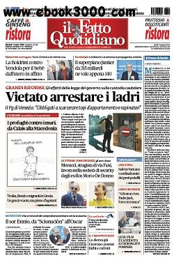 Il Fatto Quotidiano - 01.03.2016 free download