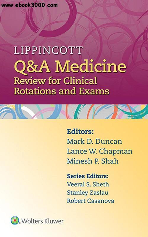 Lippincott Q&A Medicine: Review for Clinical Rotations and Exams free download