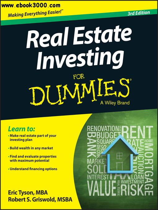 Real Estate Investing For Dummies, 3 edition free download
