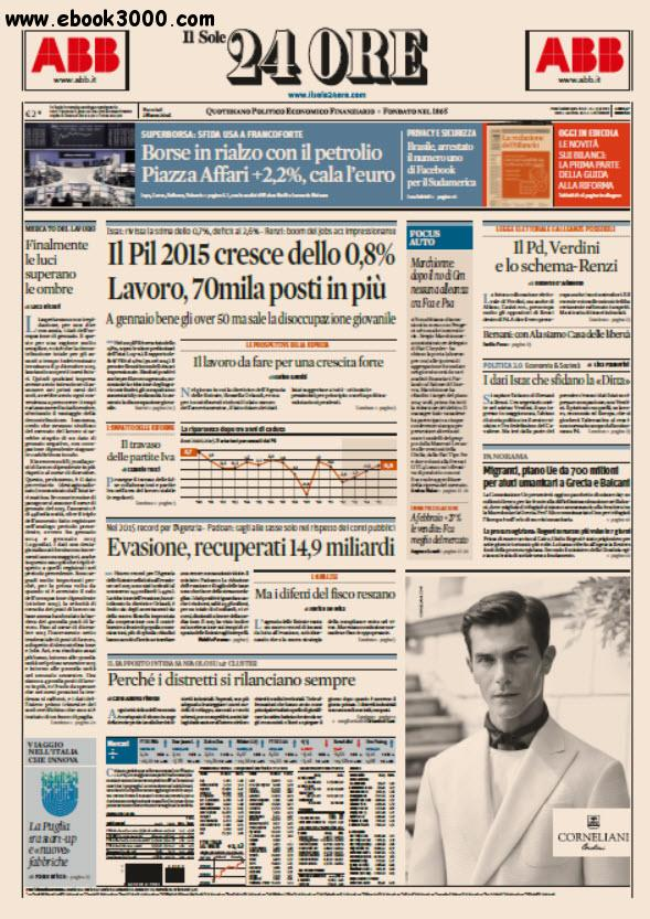 Il Sole 24 Ore - 02.03.2016 free download