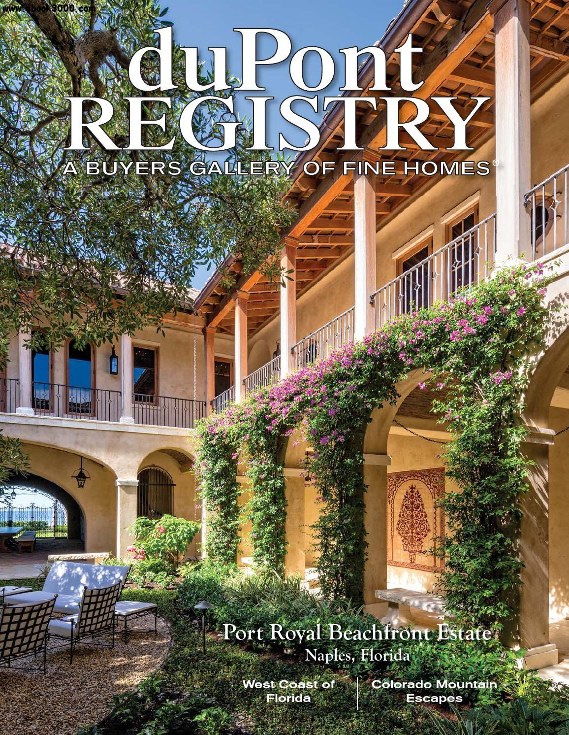 duPontREGISTRY Homes - April 2016 free download