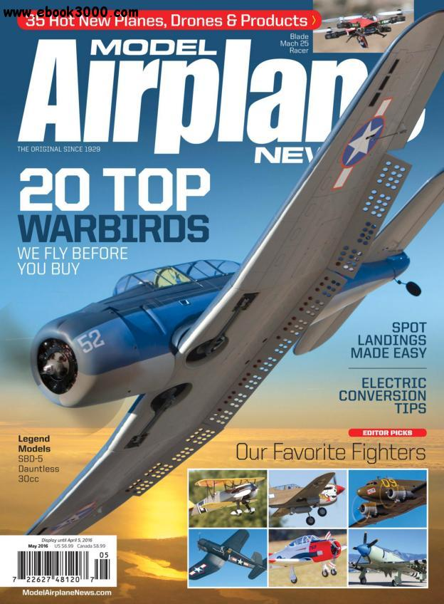 Model Airplane News - May 2016 free download