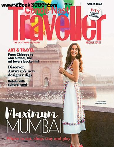 Conde Nast Traveller Middle East - March 2016 free download