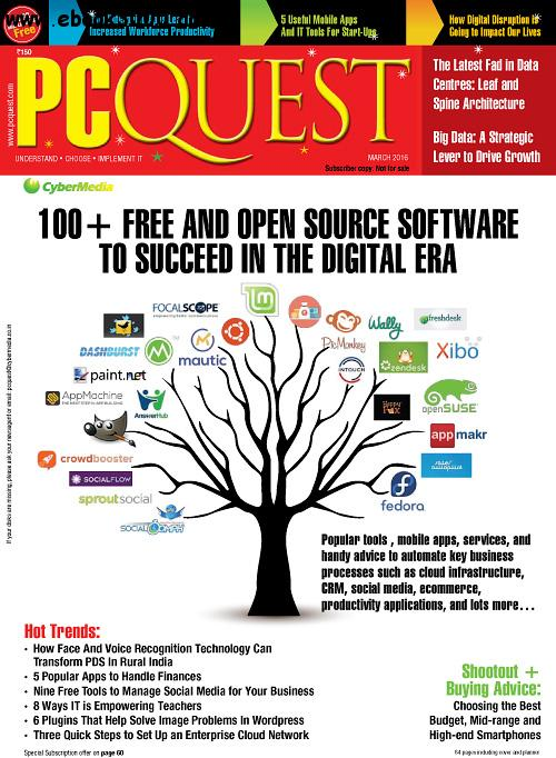 PCQuest - March 2016 free download