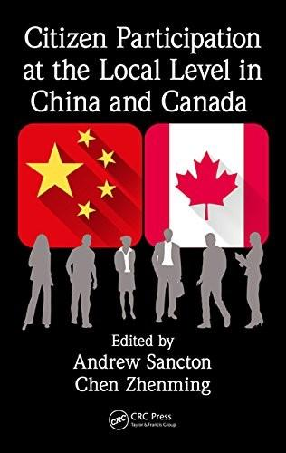Citizen Participation at the Local Level in China and Canada free download