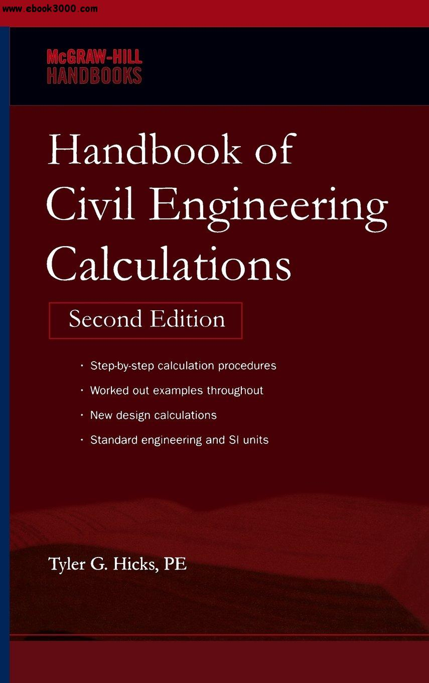 Handbook of Civil Engineering Calculations free download