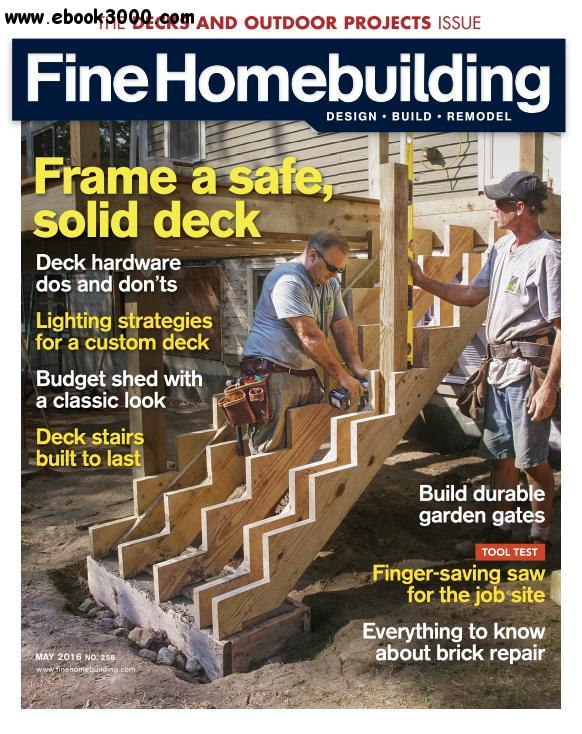 Fine Homebuilding May 2016 Free Ebooks Download