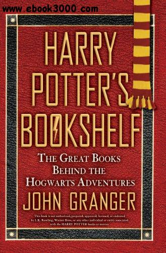 Harry Potter Book Download : Harry potter s bookshelf the great books behind
