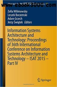 Information Systems Architecture and Technology: Proceedings of 36th International Conference, Part IV