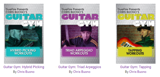 Truefire - Chris Buono's Guitar Gym - Hybrid Picking, Tapping, Triad Arpeggious [repost]