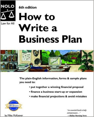 Mike P. McKeever - How to Write a Business Plan 6th Edition