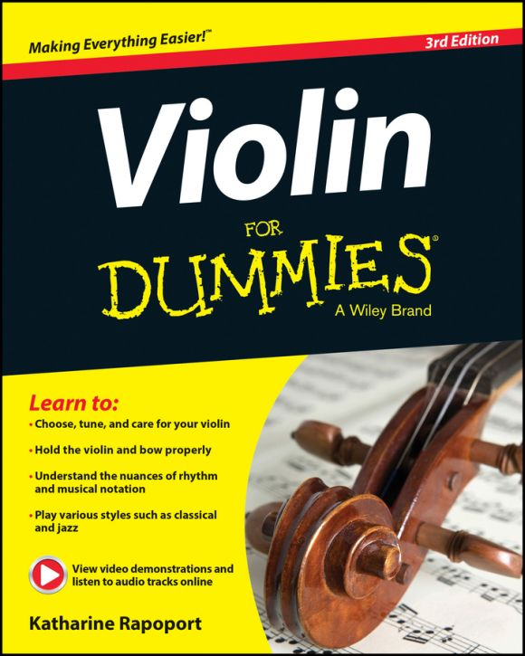 Violin For Dummies, 3 edition