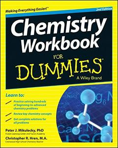 Chemistry Workbook For Dummies 2nd Edition