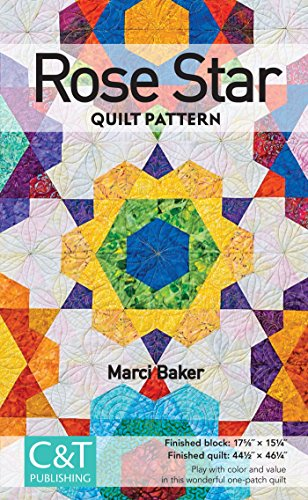 Free Quilt Patterns For Dummies : Rose Star Quilt Pattern - Free eBooks Download