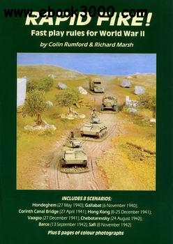 Rapid Fire! Fast Play World War 2 Wargame Rules, 1-st