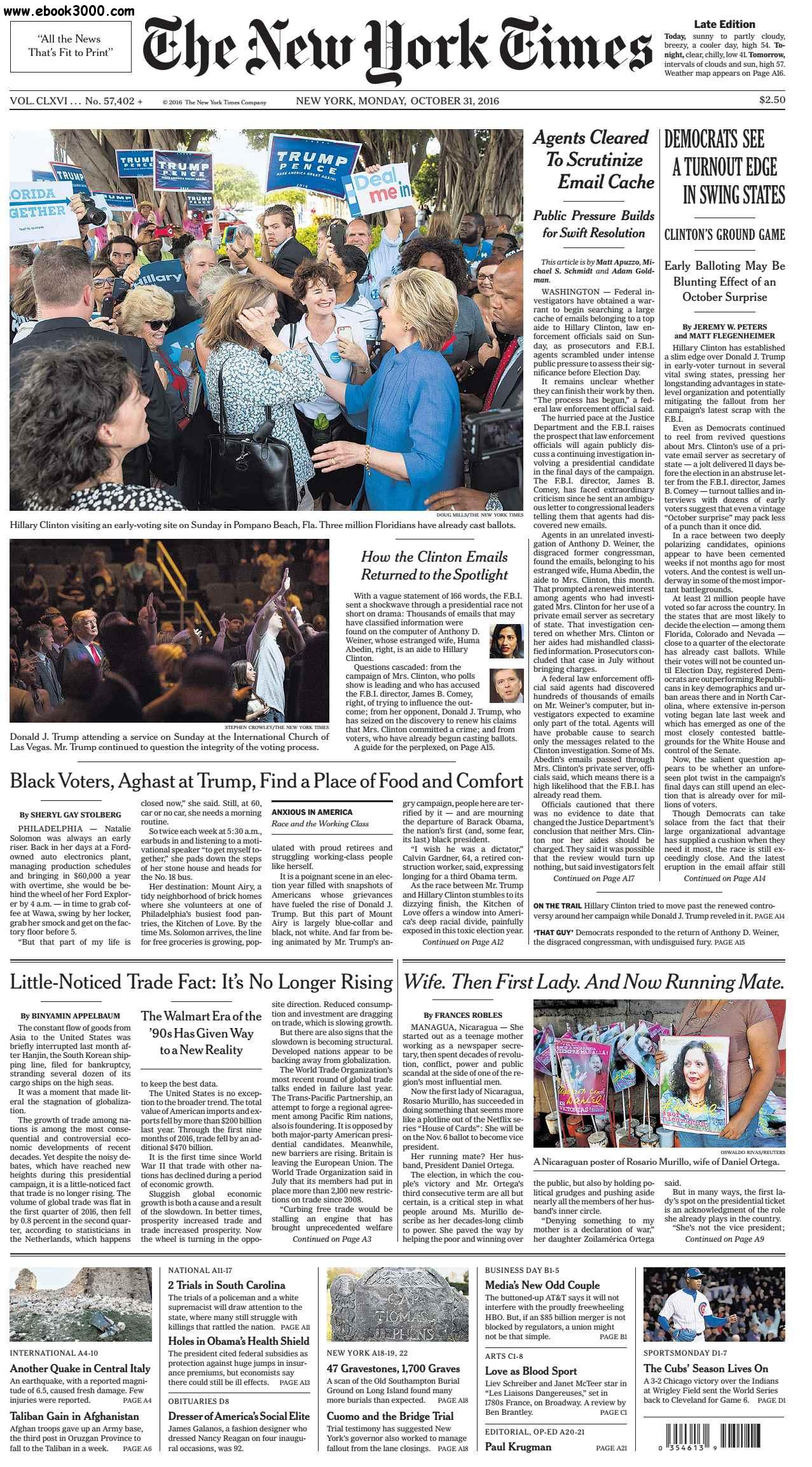 New york times search dating back to 1993 leaks comey