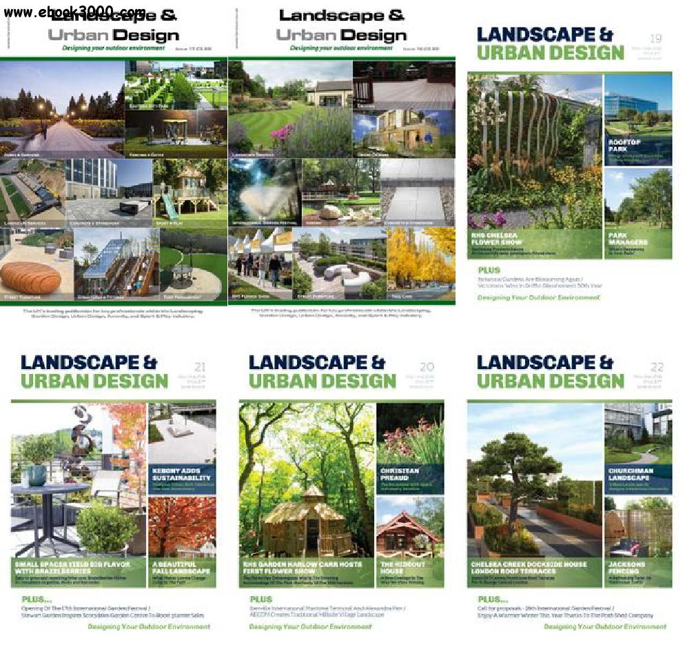 Landscape U0026 Urban Design - 2016 Full Year Issues Collection - Free EBooks Download