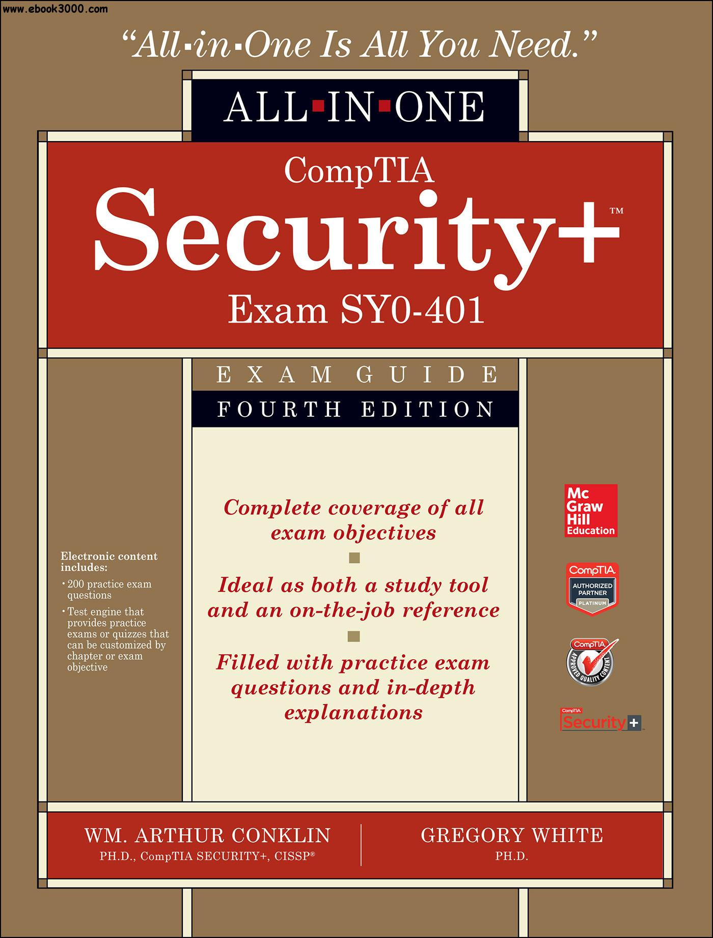 Comptia Security All In One Exam Guide Fourth Edition