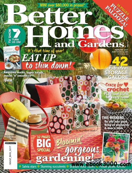 Better Homes And Gardens Australia February 2017 Free Ebooks Download