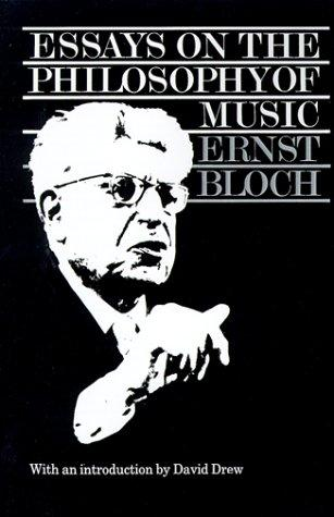 essay on the philosophy of music This volume presents a new collection of essays, all of them dealing with music, by jerrold levinson, one of the most prominent philosophers of art today it follows.