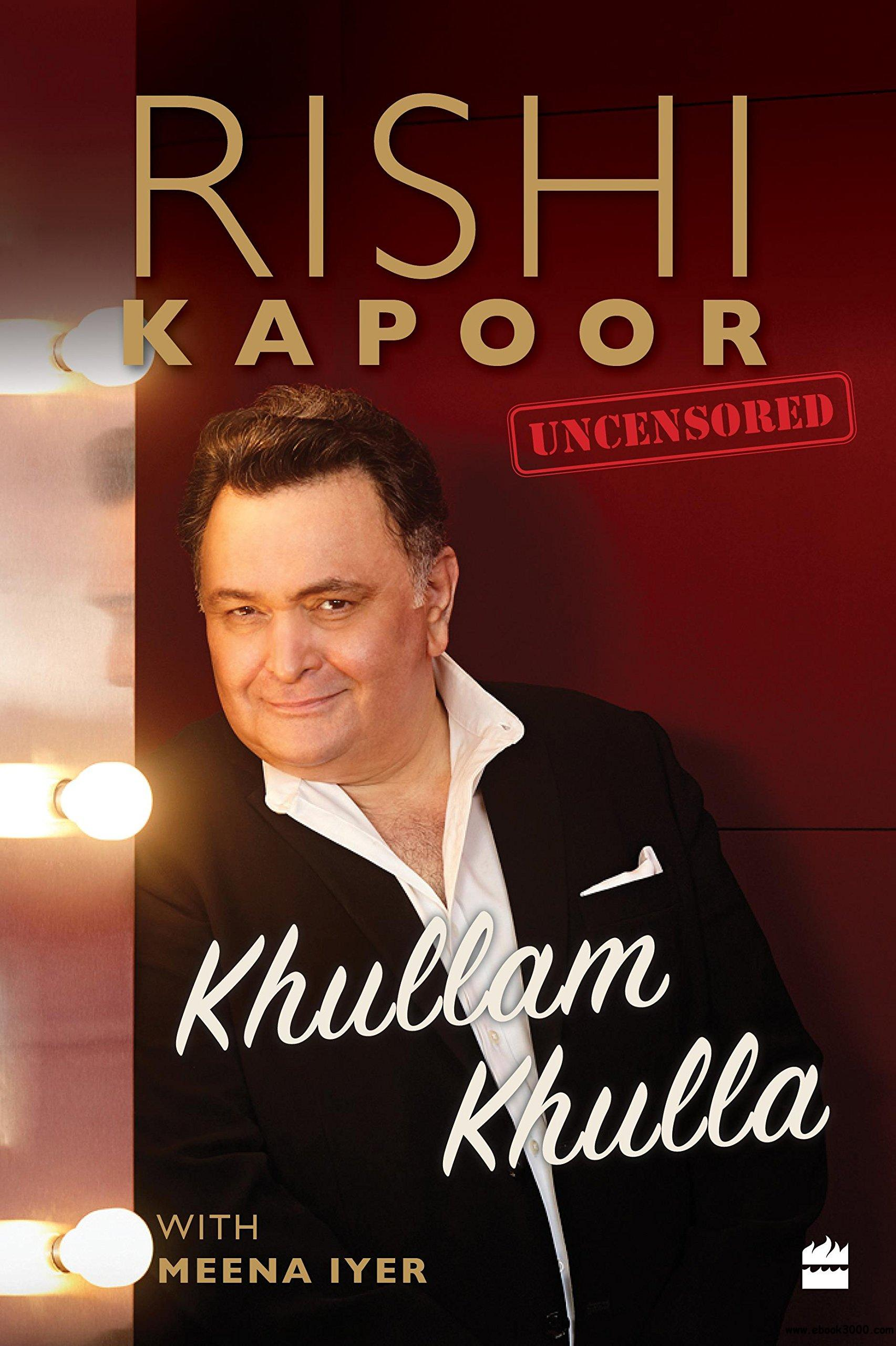 rishi kapoor book pdf in hindi free download