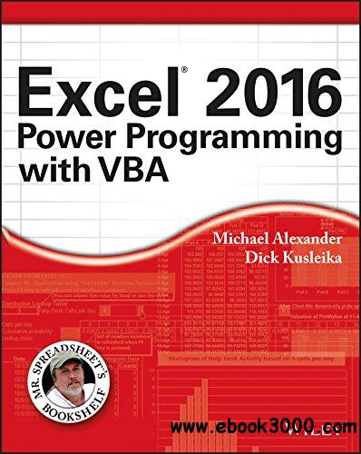 excel 2007 power programming with vba pdf free