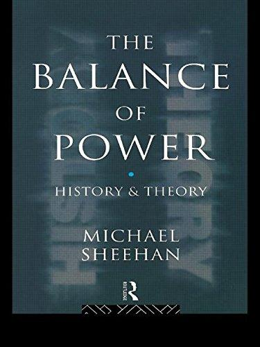 a paper on the balance of power theory The balance of power: theory and practice response papers should be posted on the classesv2 according to your the balance of power in theory • john.