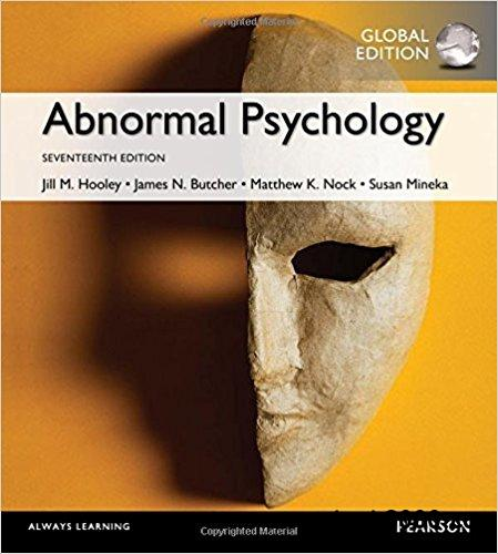Abnormal Psychology Textbook Pdf Comer Free Wiring Diagram For You
