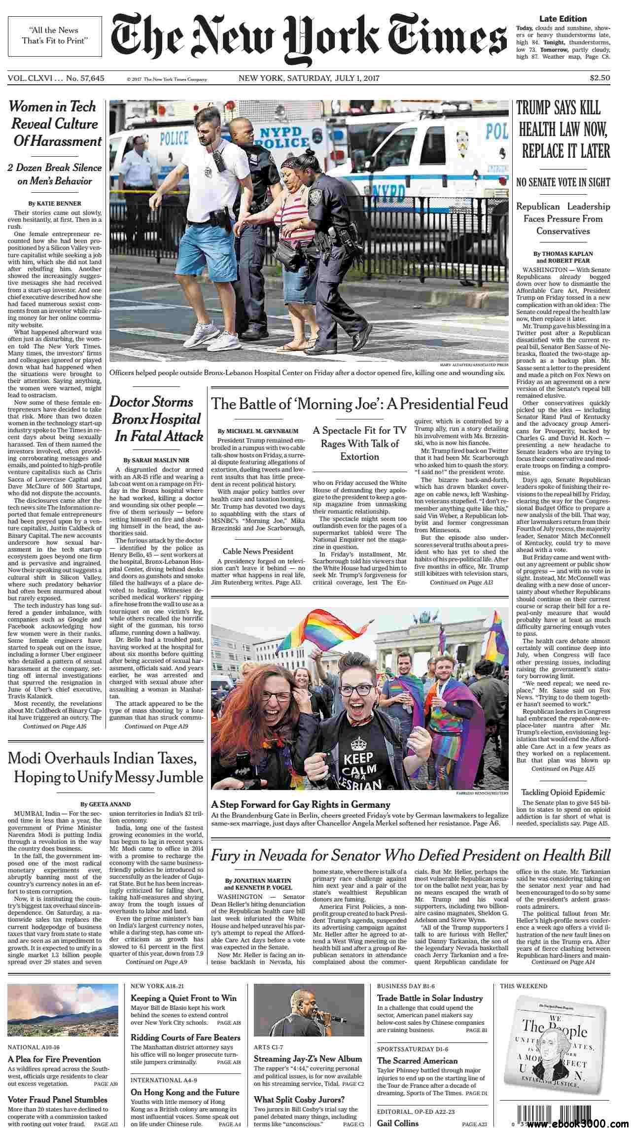 The New York Times  July 01 2017