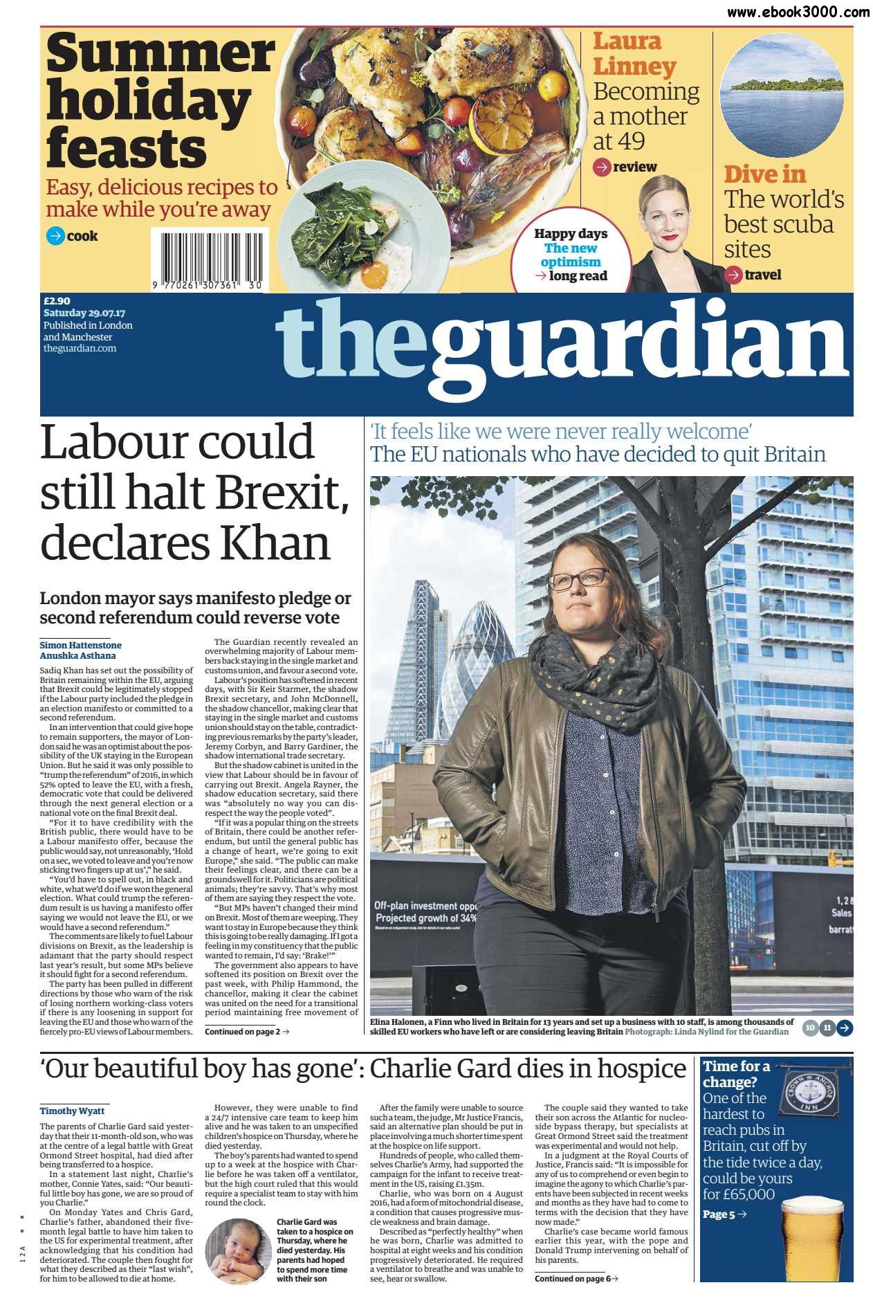 The Guardian  July 29 2017