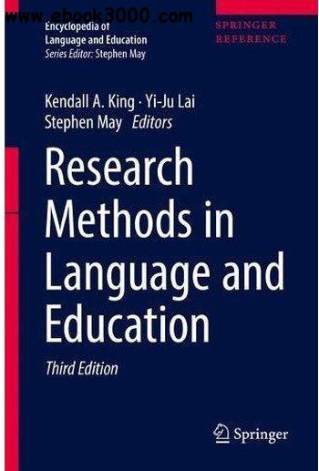 Research Methods in Language and Education, 3rd edition