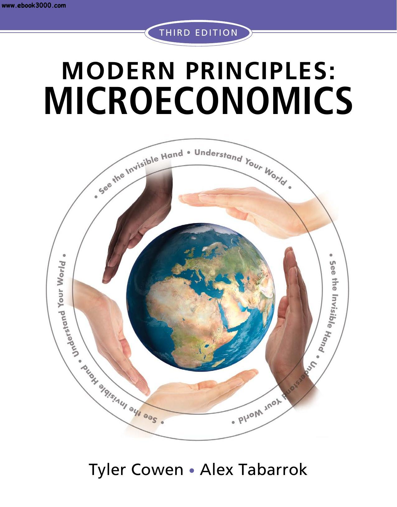 Modern Principles: Microeconomics, 3rd Edition