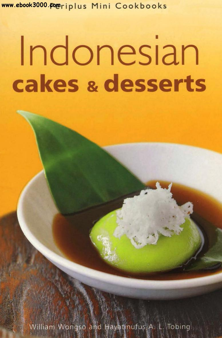 Indonesian Cakes & Desserts