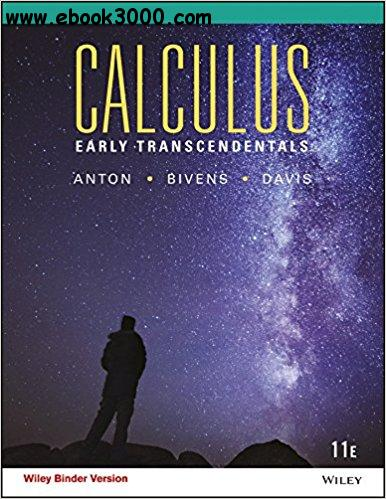 Calculus: Early Transcendentals, 11th edition