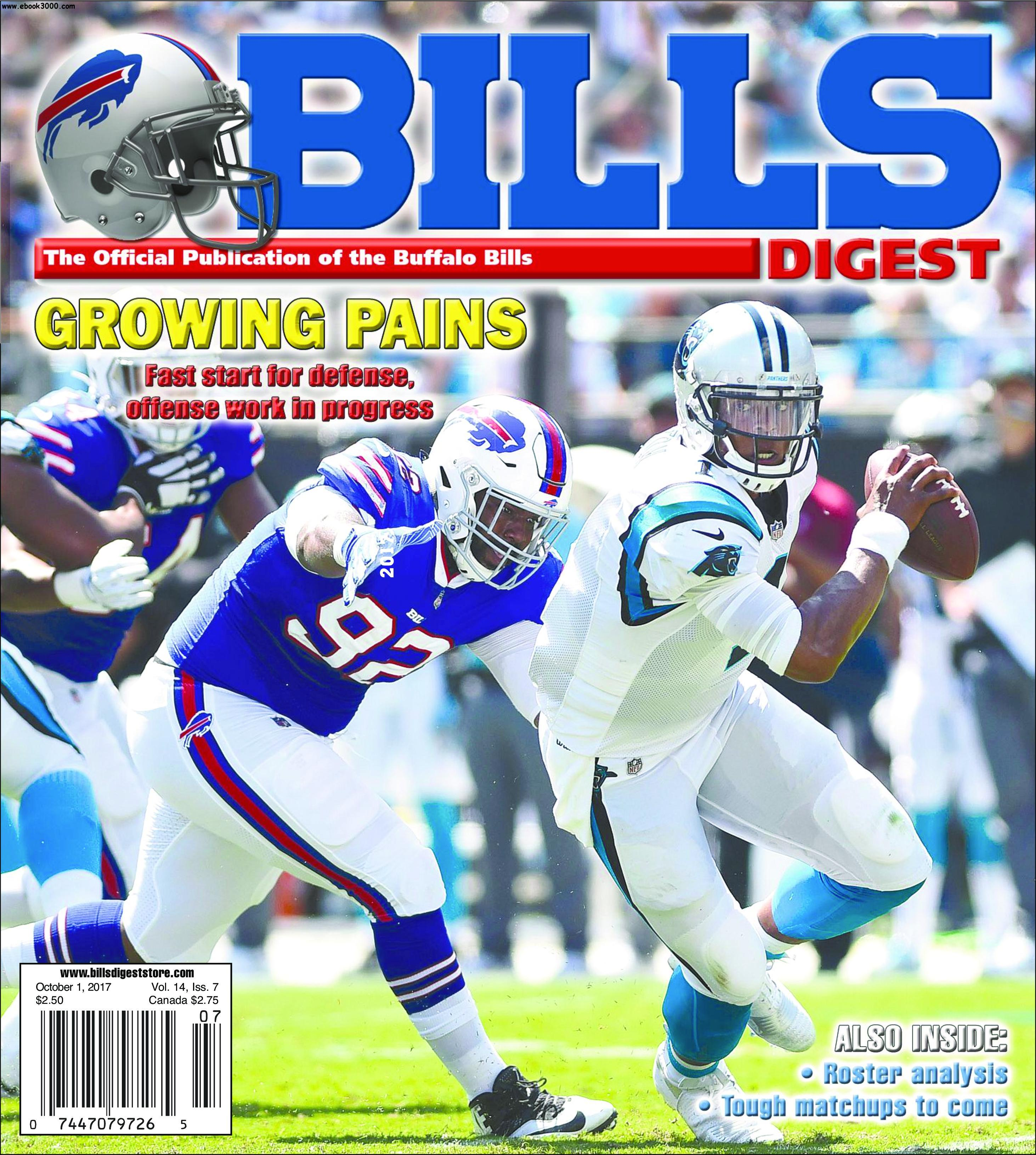 Bills Digest - October 01, 2017