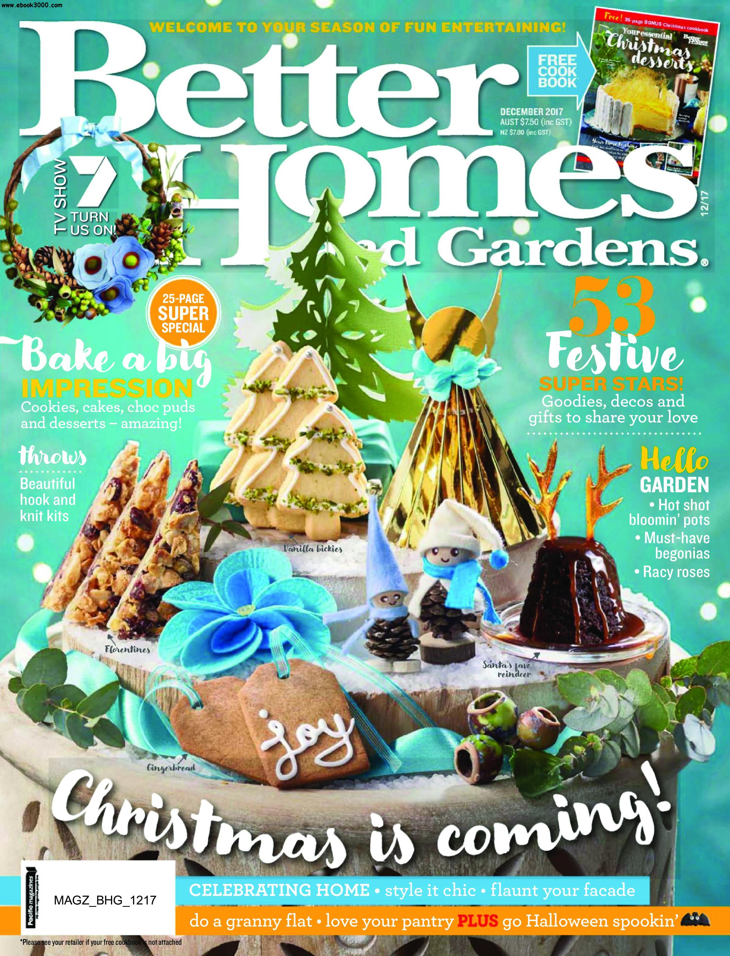 Better Homes And Gardens Australia   December 2017