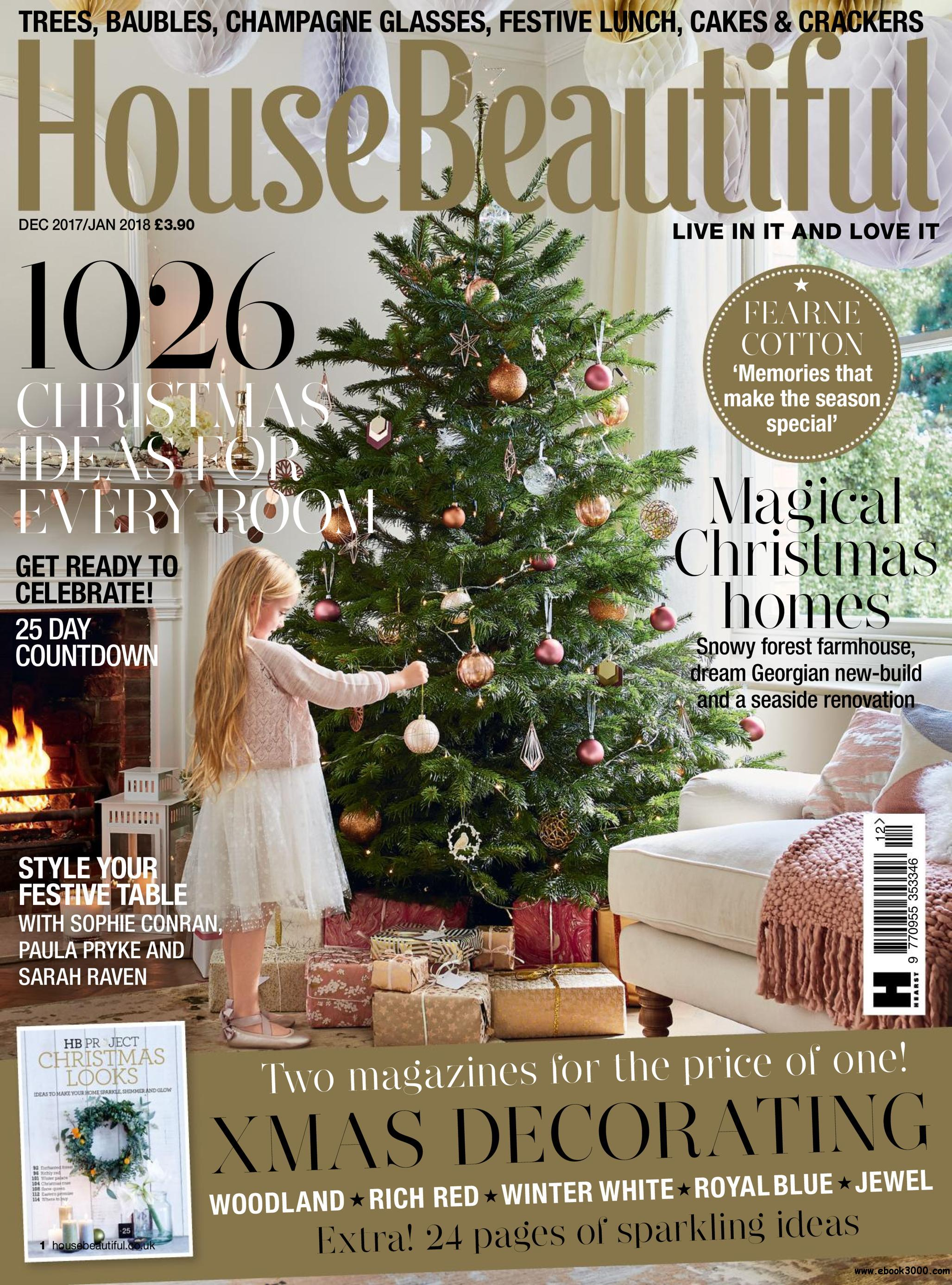 House beautiful uk december 2017 free ebooks download for Free house magazines