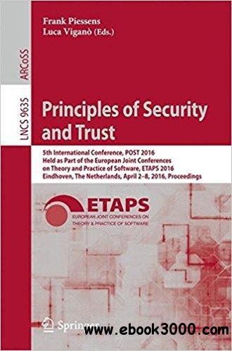 Principles of Security and Trust: 5th International Conference