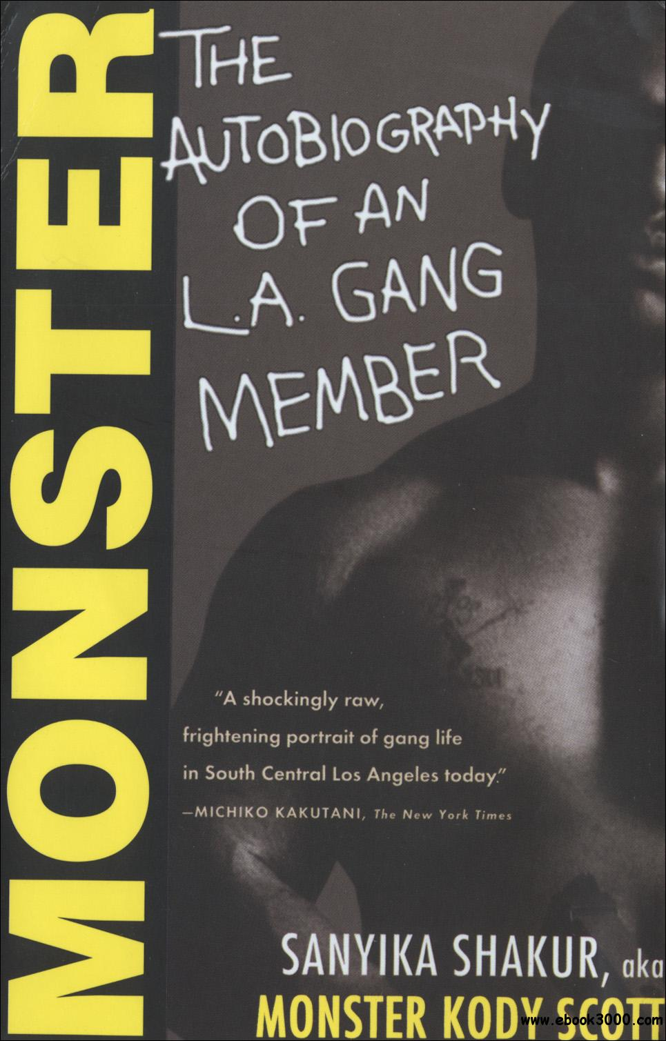 Monster the autobiography of an la gang member free ebooks download monster the autobiography of an la gang member fandeluxe Gallery