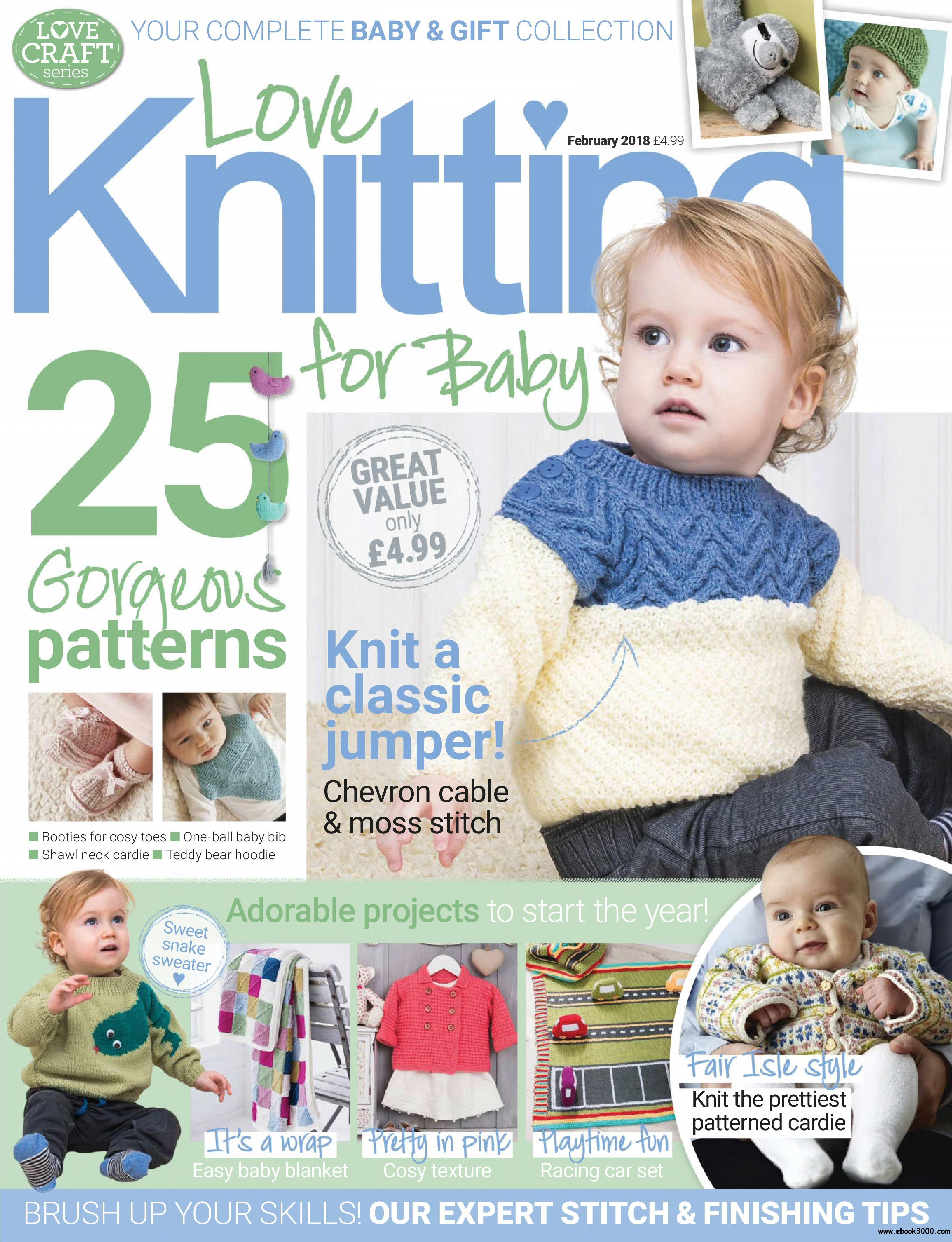 Love Knitting for Babies - January 11, 2018 - Free eBooks Download