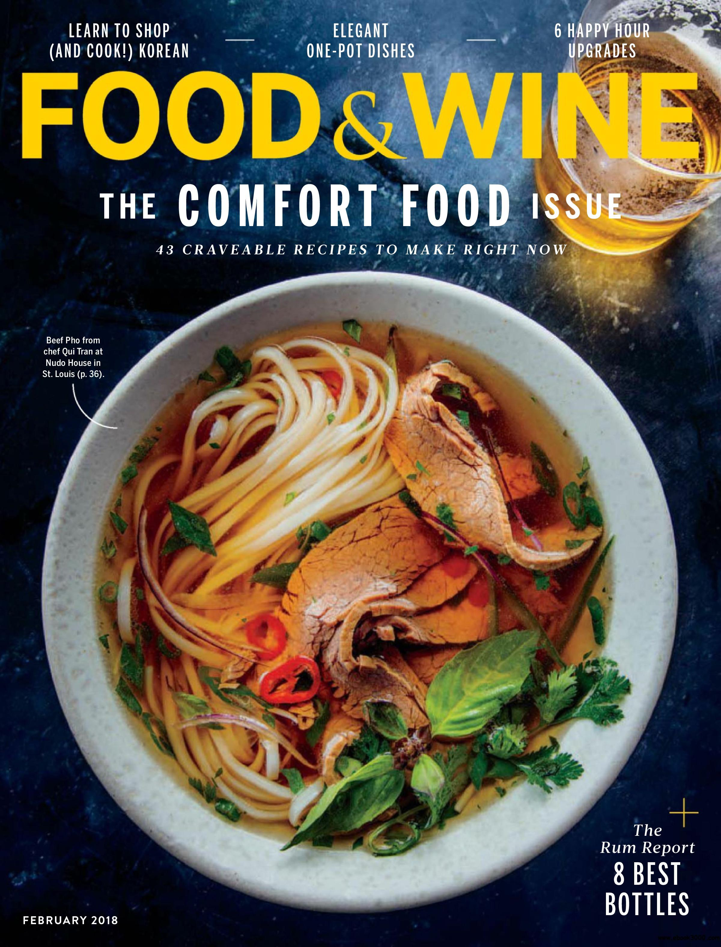 Food wine usa february 2018 free ebooks download english 96 pages true pdf 317 mb forumfinder Image collections