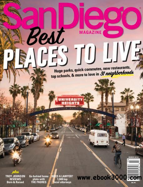 San Go Magazine Best Places To Live March 2018