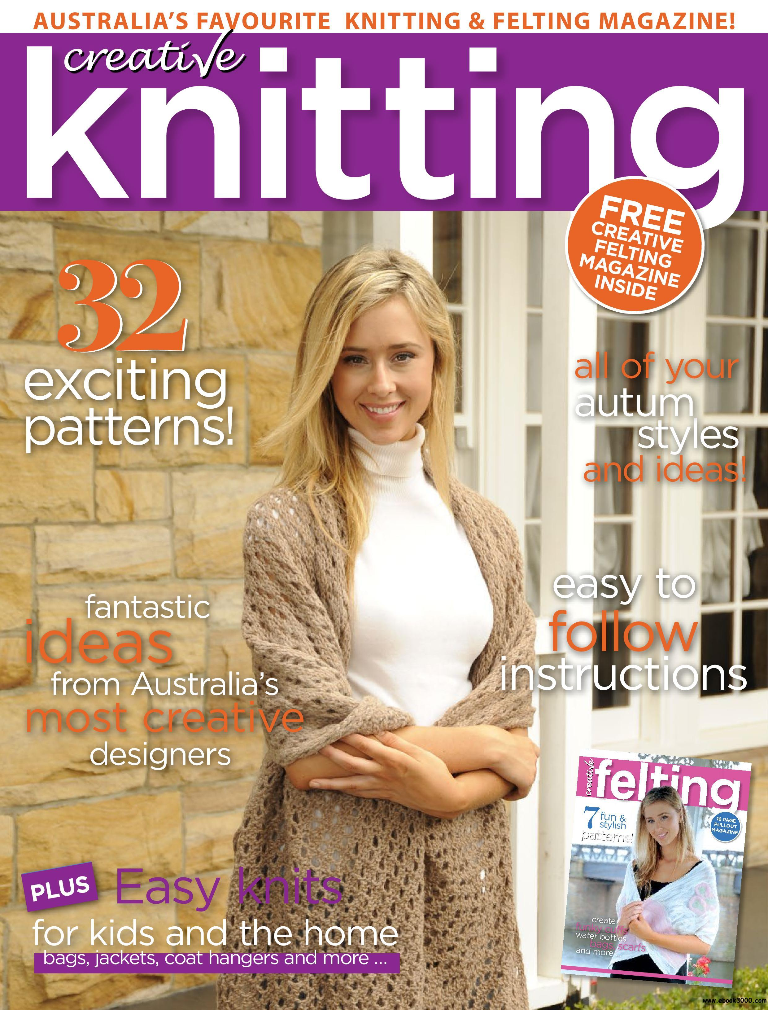 Australias creative knitting february 2018 free ebooks download english 84 pages true pdf 445 mb fandeluxe Image collections